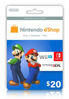 Nintendo Eshop Karte.Nintendo Eshop 20 Gift Card Igvault Com