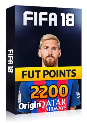 Great FIFA 18 PC 2200 FUT POINTS