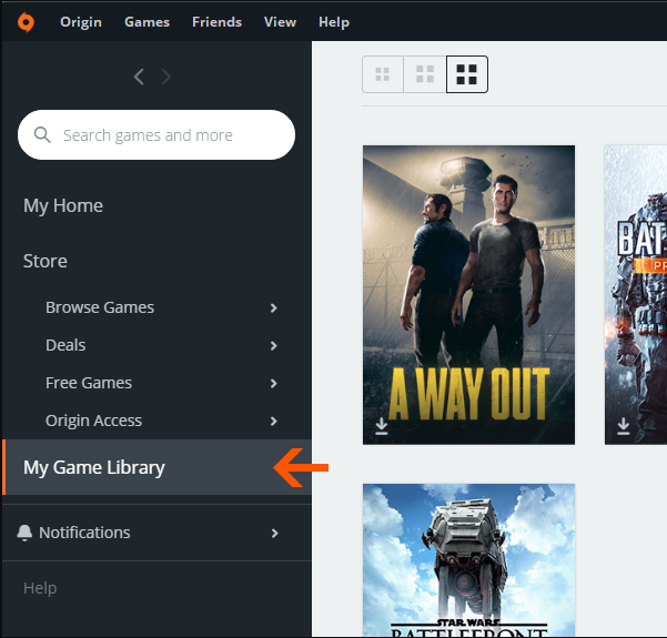 How to activate a Origin Game,title