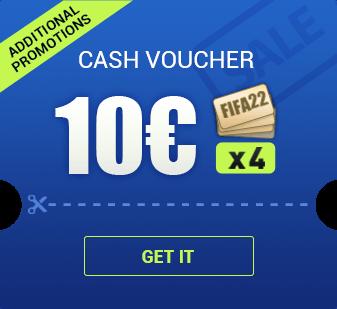 FIFA 22 10 € CASH VOUCHER