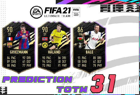 FIFA 21: TOTW 31 Predictions – Team Of The Week